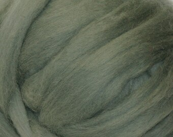 Blue Spruce Romney Wool Roving for Needle Felting One Ounce