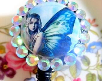 Fairy Wings Badge Holder