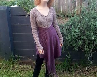 upcycled OOAK ladies dress size S