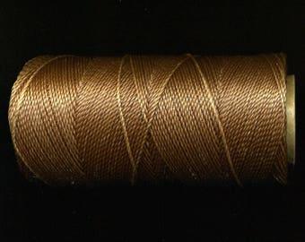 Brown, macrame 362 Linhasita, 180 meters coil