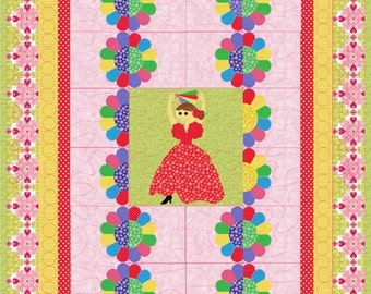 Little Girls' Quilt Flamenco Dancer Quilt