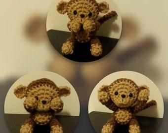 Crochet PDF Pattern - Monkey