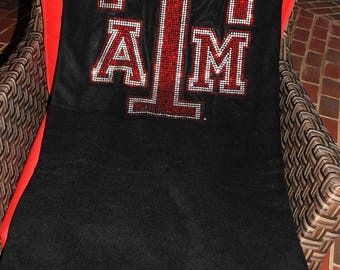 Texas A & M Tailgate or Dorm Blanket  officially licensed