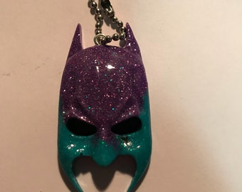 Batman head keychain