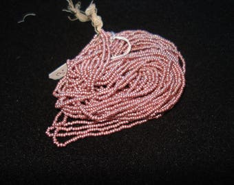 beads color: antique pink #2