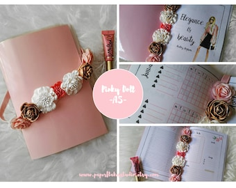 A5 Printable Planner Pinky Doll