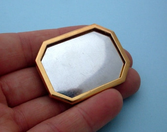 Gold Plated  Pin Setting Frame Mounting 105G