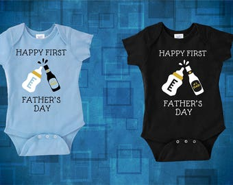 Happy Father's day gift, First father's day, Gifts For Dad, Baby Shower, New Daddy and Me, Father Son, Baby Gift, Dad Gifts, Husband Gift