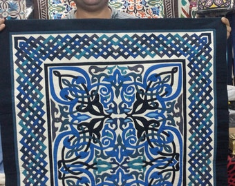 Special Arabian Design . This masterpiece of hand-stitched appliqué Tentmakers of Cairo Art.