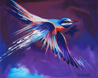 Kingfisher - Giclee print