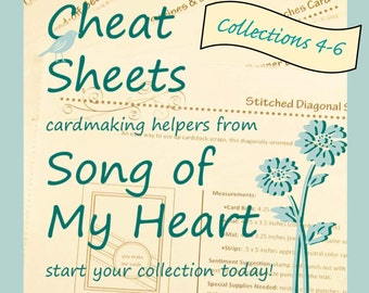 Cheat Sheets (4-6) Continuing Collection: Instant Digital Download