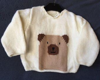 wool Teddy bear sweater