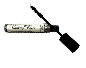 Vegan Black Mascara - Natural Organic Smooth Thickening
