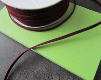 Suede, Velvet brown suede cord