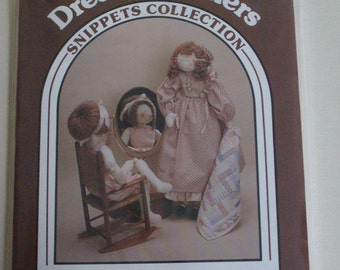 """Dream Spinners # 504- Serenity pattern 27"""" doll,clothes, quilt, vintage"""