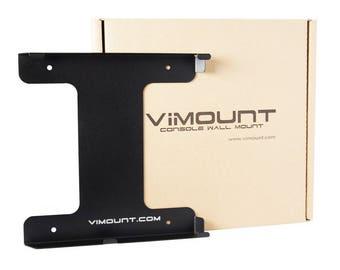 Playstation 4 PS4 SLIM Wall Mount Black - ViMount