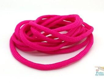 2 m thread paracord (fil139) hot pink parachute cord
