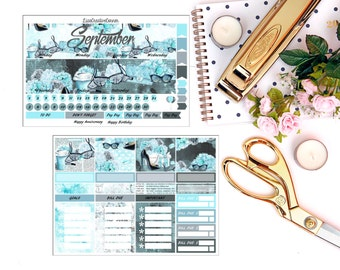 Custom Month View for Erin Condren Life Planner/Happy Planner