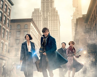 Fantastic Beasts And Where To Find Them Movie Poster A5 A4 A3 A2 A1
