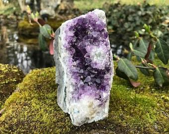 Amethyst Geode Crystal Cluster ~ Brazil