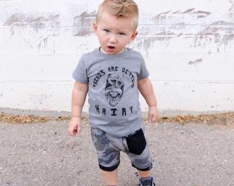 Cool Camo Pocket Harem Shorts