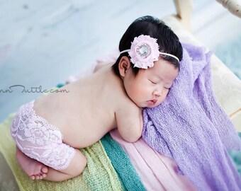 SALE! Pink lace newborn skirt, newborn lace skirt, newborn photo prop, photography prop, newborn skirt set, newborn photo prop, lace skirt