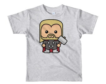 Thor God of Thunder Short Sleeve Kids T-shirt