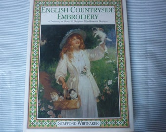English Countryside Embroidery book