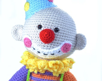 Smiley the Crochet Clown
