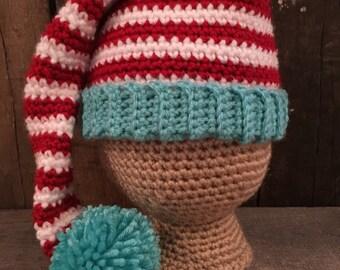 0-3 month Elf Hat
