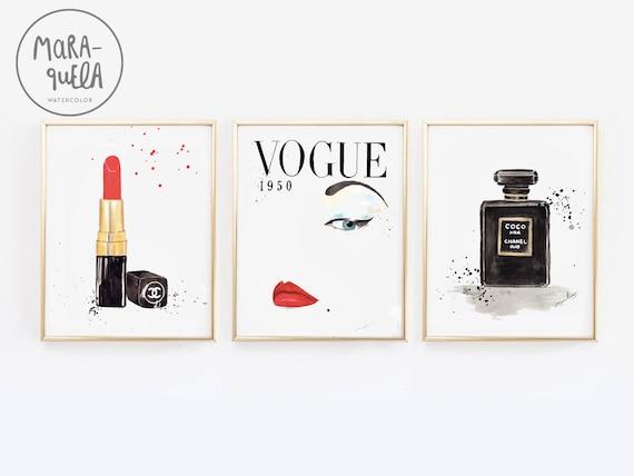 DISCOUNT Fashion PACK: lipstick, Vogue cover, Coco Chanel Perfume.