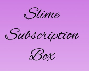 May Slime subscription box