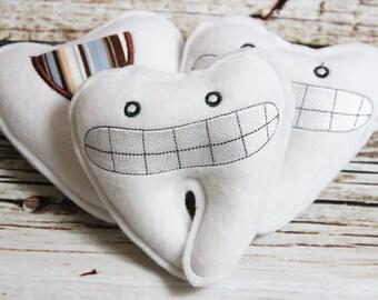 Smiley Tooth Fairy Pillows