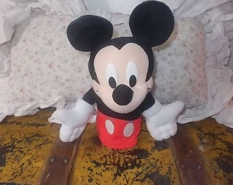 Hand Puppet, Mickey Mouse Puppet, Puppet Show, Mickey Mouse Disney Toys, Vintage Toys, Toys,
