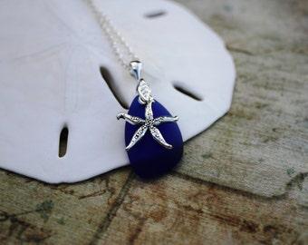 Blue Sea Glass Jewelry Sea Glass Necklace Seaglass Necklace Seaglass Jewelry Wedding Jewelry Bridal Jewelry Bridesmaid Jewelry Hawaii 007