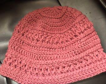 Emalee Hand Crocheted Beanie