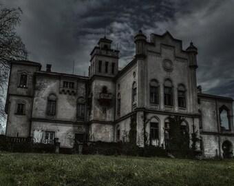 Abandoned mansion II, urban exploration, urbex
