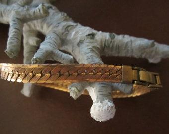 Vintage Brass Band Bracelet 1Pc.