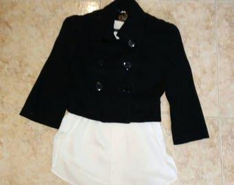 Cropped jacket / / style Bullfighter jacket