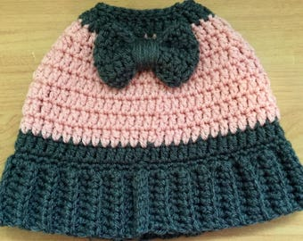 Messy Bun Hat With a Bow - Ponytail Bow Hat - Messy Bun Beanie - Ponytail Hat - Bun Hat - Ponytail Beanie - Winter Messy Bun Hat