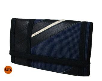 Trifold, Handmade Personalized Wallet, Vegan Friendly, Vegan Leather, Leather Wallet, Mens Leather Wallet, Travel Wallet, UNUSUAL