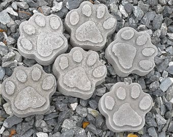 Dog Paw Prints (Set of 6)