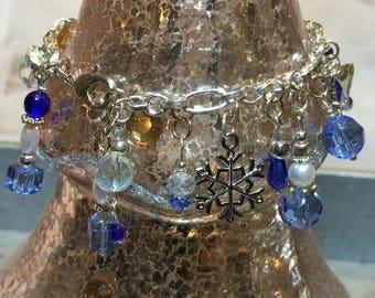 Winter Blue Bracelet No.1