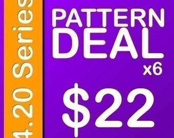 Delicious Crochet Pattern PDF Deal 4.20 Series