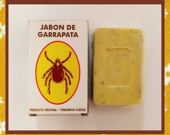 Esoteric soap tick to attract love or money