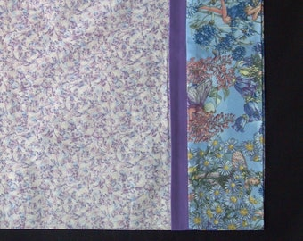 Fairies flowers blossoms Kids Gift Gift for Her Pillowcase Lavender Purple