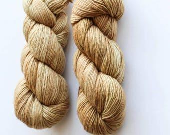 100% Merino Wool Single Ply Worsted Weight Tonal Hand Dyed *MANZANITA*