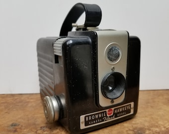 Kodak Brownie Hawkeye Camera, fifties film camera, vintage Camera, Kodak
