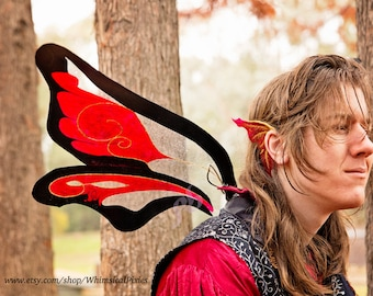 Custom Adult Fairy Wings, Dragon Wings, Festival Costume Wings- DEPOSIT ONLY