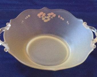 Vintage Pale Yellow Bowl